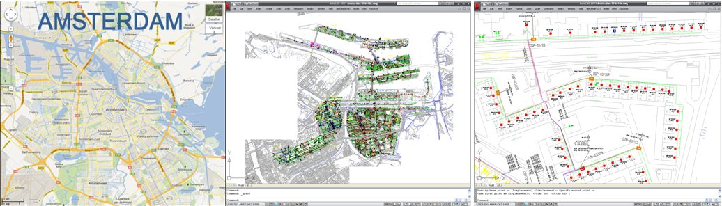 FTTH design Amsterdam
