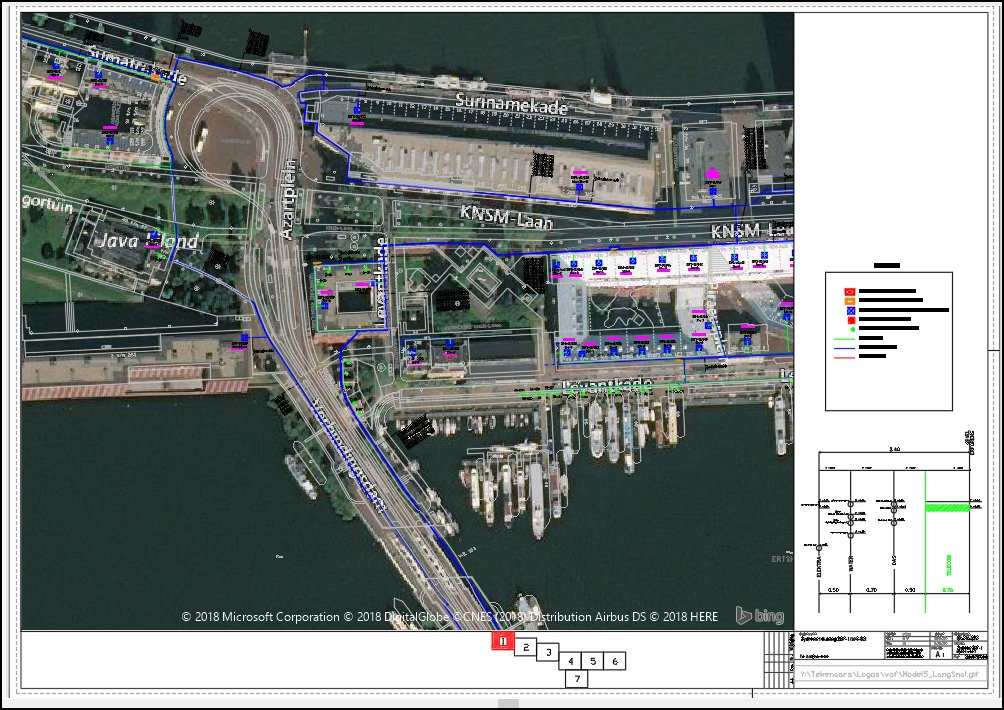 FTTH design and satellite view